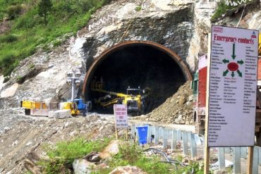 Rohtang Tunnel - Work in Progress