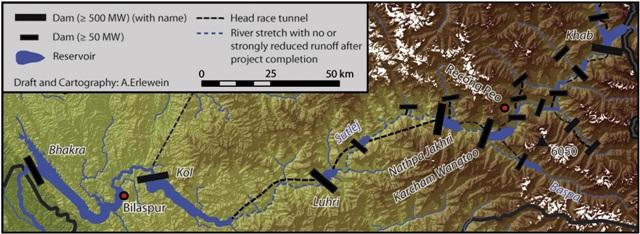 Vansihing River Sutlej