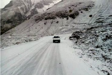 Cold setting in on the high Himalayan Passes of Himachal