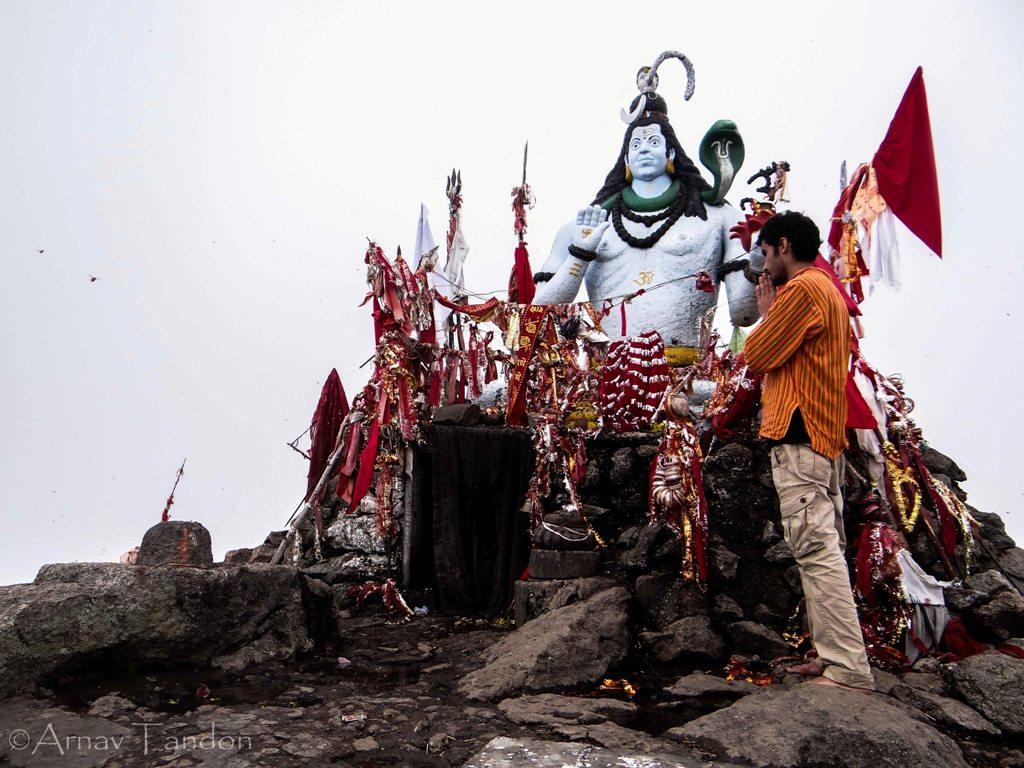 Lord Shiva at Churdhar Peak