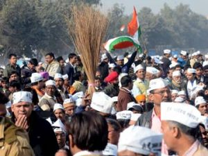 AAP Supporters Post Delhi Elections