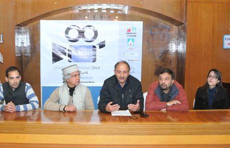 Announcing holding of Shimla Film Festival - 2014