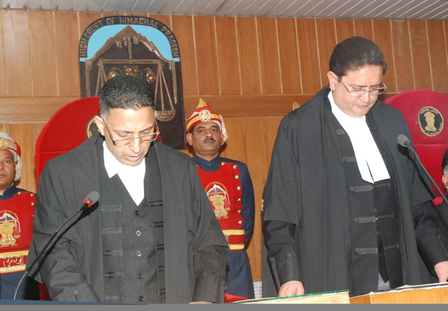 Justice Tarlok Chauhan Sworn in as Additional Judge of HP High Court