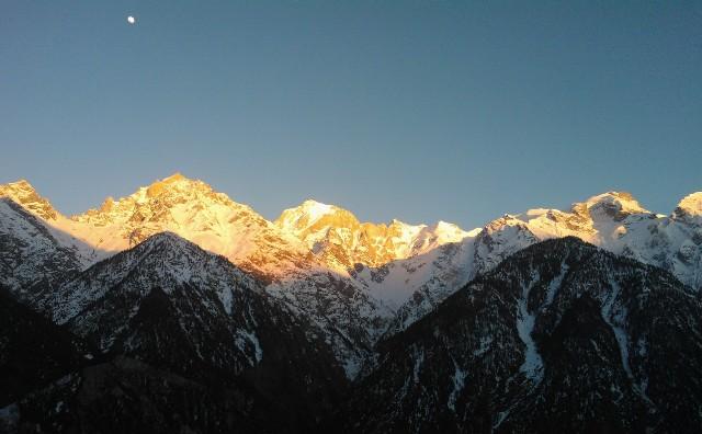 Sunset at Kinner Kailash
