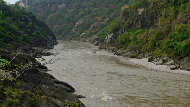 2.This 66 MW project is going to submerge agriculture fields and grazing lands in 2 districts of Hamirpur & Kangra.  If constructed, this dam along with 2 others planed upstream will spell death for the last stretch of the free flowing Beas.