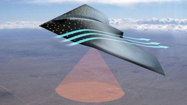 Aircraft to be given 'human-like skin' to sense damage