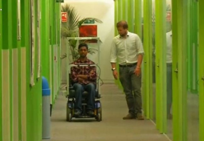 Eye-tracking wheelchair developed by DoC_1