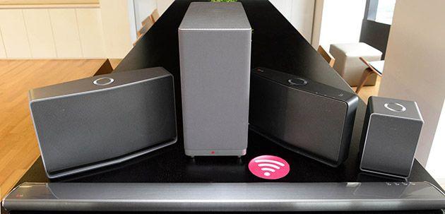 LG Music Flow speaker system