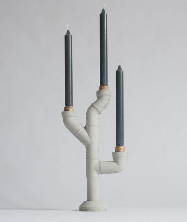 Plumbing pipes for candle holders_8