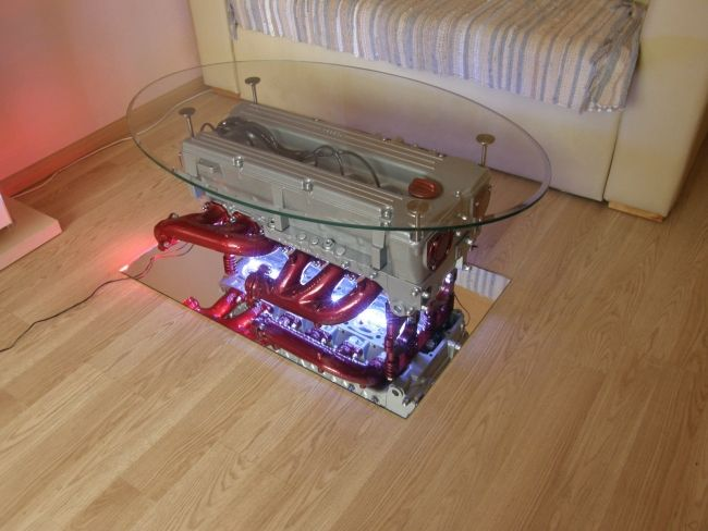 Top Gear Engine coffee table_2