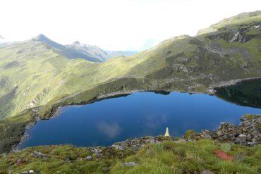 Khangchendzonga National Park: High altitude lake