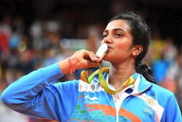 Rio 2016 - PV Sindhu with her Silver Medal