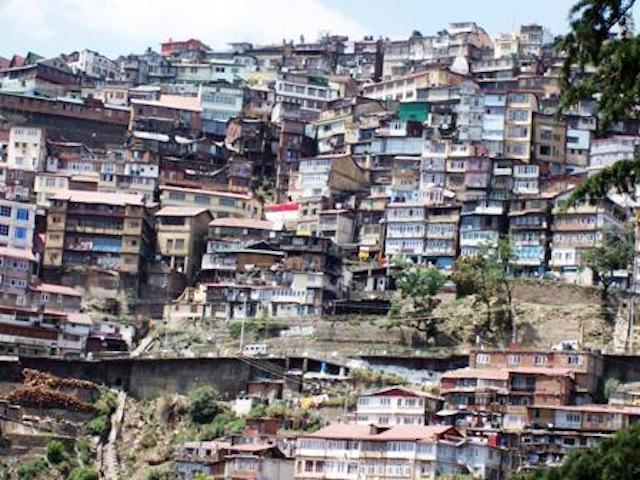 Shimla buildings
