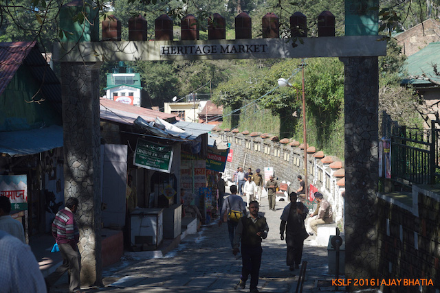 Kasauli Market (Photo Courtesy - Ajay Bhatia)