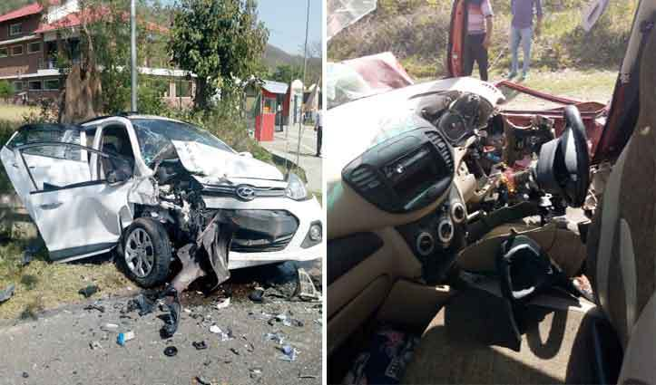 SDM's wife killed in two car collision