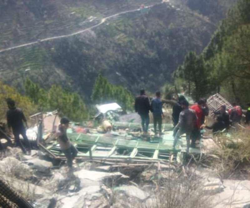 Seven Die in Bus Accident at Tissa Chamba
